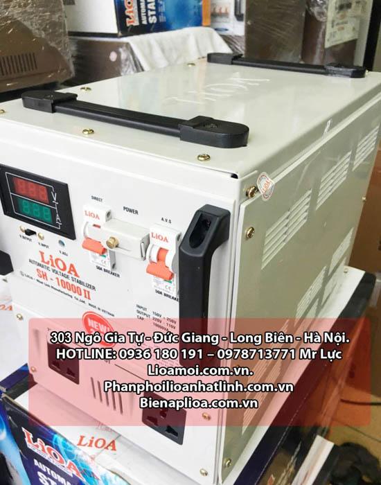 Ổn áp lioa SH 10kva II thế hệ mới (Lioa Sh-10000 II thế hệ mới)