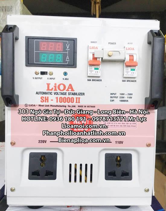 Lioa 10kva sh-10000 dây đồng 100%