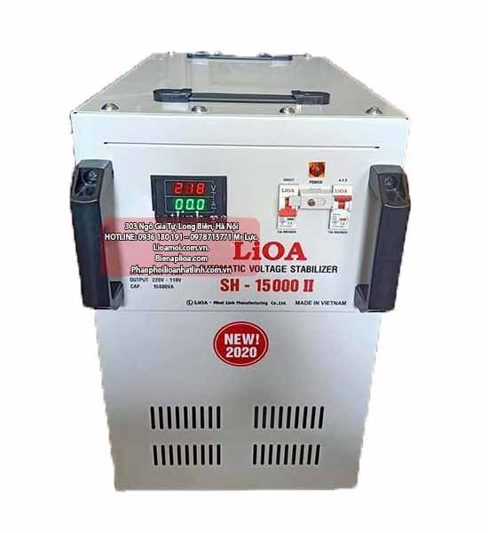 Ổn áp lioa SH 15kva II thế hệ mới (Lioa Sh-15000 II thế hệ mới)