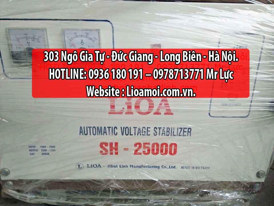 Ổn áp lioa SH 25kva (lioa Sh-250000) tồn kho