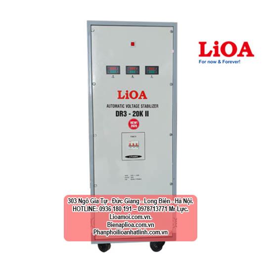 Ổn áp lioa dr3-20kva 3 pha