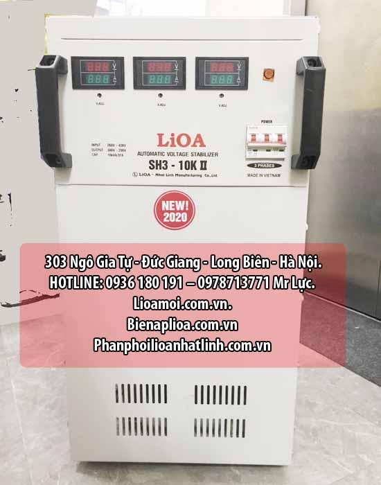 Ổn áp lioa sh3-10kva 3 pha