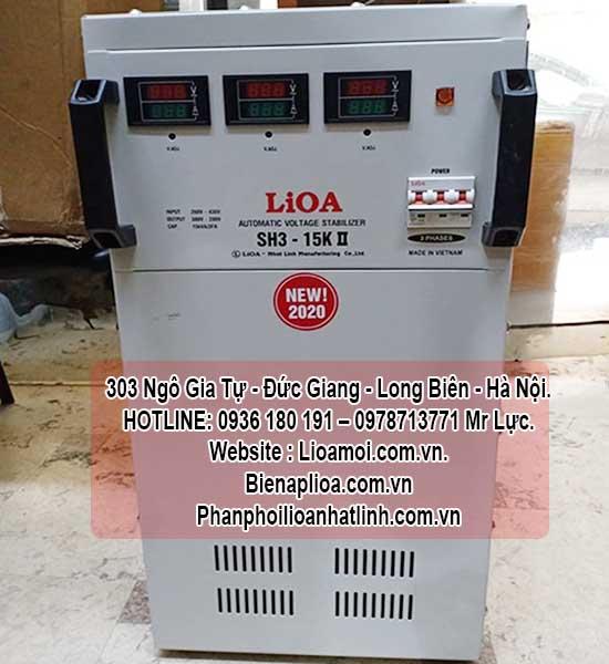 Ổn áp lioa sh3-15kva 3 pha