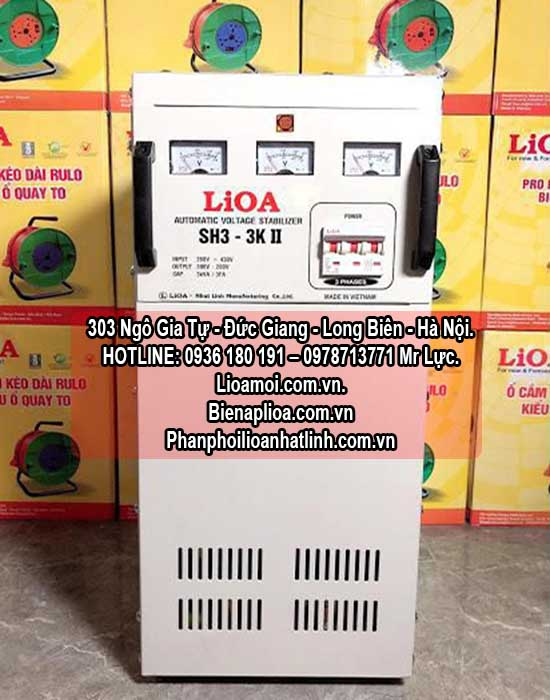 Ổn áp lioa Sh3-3kva 3 pha