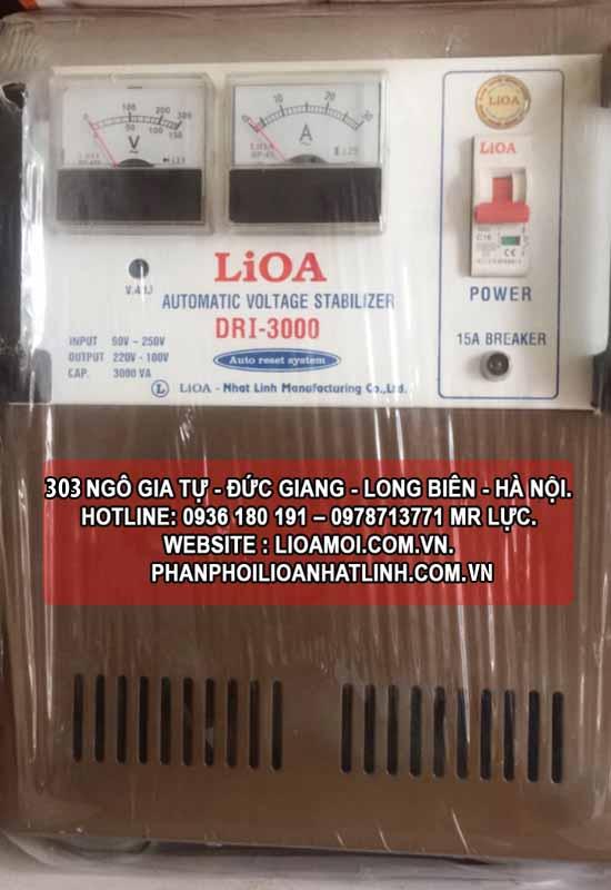 Ổn áp lioa DRI-3000 (Lioa 3kva DRI giá rẻ)
