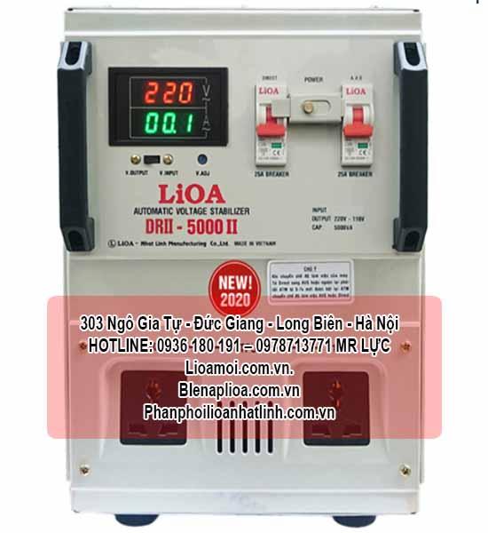 Lioa DRII-5000 dây đồng 100%