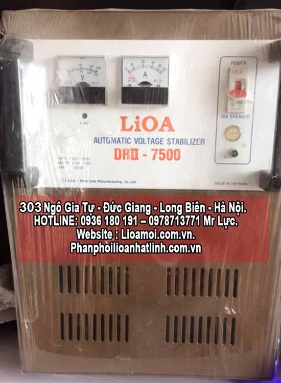 Ổn áp lioa 7,5kva (lioa SH 7500 hàng tồn giá rẻ)