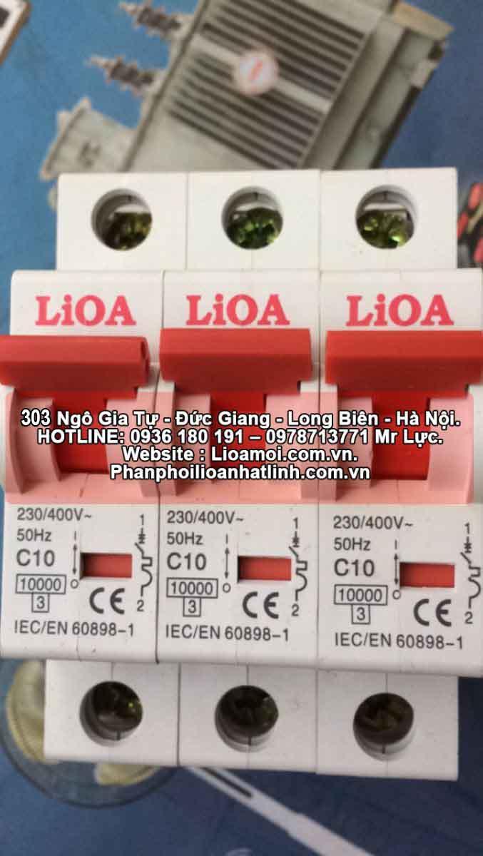 Aptomat đơn lioa C10 (10A=2kva)