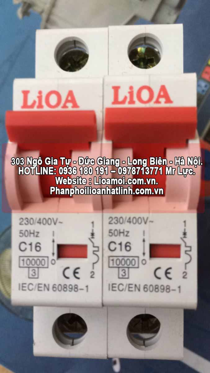 Aptomat đơn lioa C16 (16A=3kva)