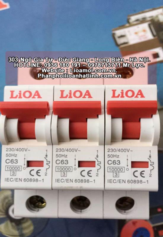 Aptomat đơn lioa C63 (75A=15kva)